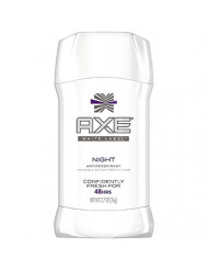 Axe Is White Label Night Size 2.7z Axe Invisible Solid White Label Night Deodorant 2.7z
