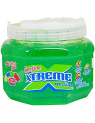 Xtreme Professional Wet Line Styling Gel Extra Hold Green, 35.6 oz (Pack of 2)