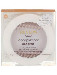 Revlon New Complexion One-Step Compact Makeup SPF 15, Natural Beige [004] 0.35 oz (Pack of 12)
