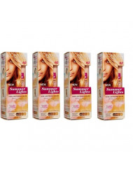 L'Oreal Paris Summer Lights Lightening Gelee Kit, From Dark Blonde to Light Blonde Hair [02] 3.4 oz (Pack of 4)