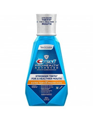 Crest Pro-Health Advanced Mouthwash with Extra Tartar Protection, Refreshing Mint 16.90 oz (Pack of 3)