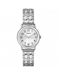 Timex Carriage By Timex C3C744 Womens Silver Tone Expansion Band Watch - C3C744