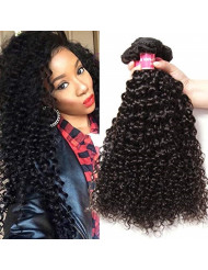 Jolia 8A Brazilian Curly Hair Weave 3 bundles a lot Thick Remy Human Hair Weft Non Chemical Process Natural Color 20 22 24 inch