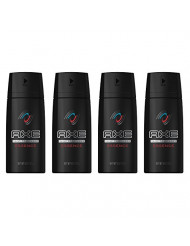 AXE Body Spray for Men, Essence, 4 Oz, Pack of 4