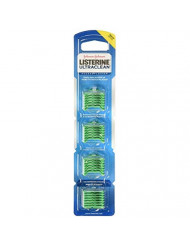 Listerine Ultraclean Access Flossers Disposable Heads Fresh Mint Crystals 28 Each (Pack of 6)