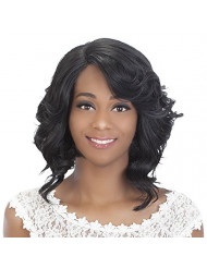 Vivica A Fox Hair Collection Tori New Futura Synthetic Fiber Full Lace Front Wig, 1, 10 Ounce