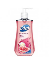 Dial Himalayan Pink Salt & Water Lily Hand Soap with Moisturizer 7.5 Oz (Pack of 6)
