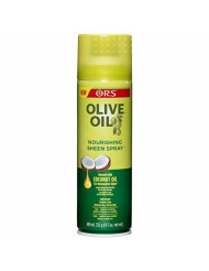 ORS Olive Oil Nourishing Sheen Spray infused with Coconut Oil 11.7 oz (Pack of 12)