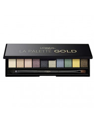 L'Oreal Color Riche Eyeshadow Palette - (Gold) 7g/0.23oz
