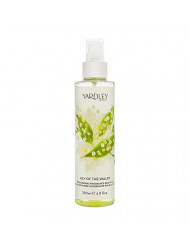 Yardley of London Lily of the Valley 6.8 Moisturising Fragrance Body Mist