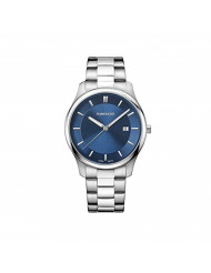 Wenger Men's City Classic Swiss-Quartz Watch with Stainless-Steel Strap, Silver, 21 (Model: 01.1441.117)