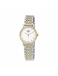 Tissot Women's Quartz Watch with Stainless-Steel Strap, Two Tone, 14 (Model: T1092102203100)