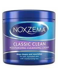 Noxzema Facial Cleanser, Moisturizing Cleansing, 12 oz