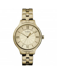 Timex Women's TW2R28100 Peyton Gold-tone Stainless Steel Bracelet Watch