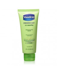 Vaseline Intensive Care Aloe Soothe Lotion, 3 Ounce (Pack of 4)