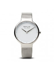 BERING Time | Women's Slim Watch 15531-004 | 31MM Ø Case | Max Rene Collection | Stainless Steel Strap | Scratch-Resistant Sapphire Glass | Minimalistic Danish Design