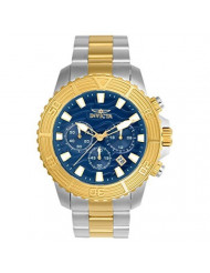 Invicta Men's Pro Diver Quartz Watch with Stainless-Steel Strap, Two Tone, 22 (Model: 24002)