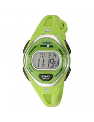 Timex Women's TW5M11000 Ironman Sleek 50 Green Silicone Strap Watch