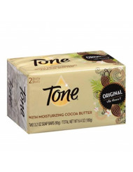 Tone Bath Bars Cocoa Butter, 3.2 Ounce Bar, 2 Bars Per Pack (6 Packs)