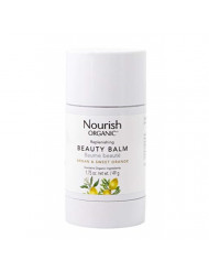 Nourish Organic Replenishing Beauty Balm, Sweet Orange and Palmarosa, 1.75 Ounce