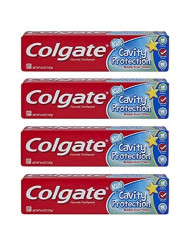 Colgate Kids Cavity Protection Bubble Fruit Fluoride Toothpaste 4.6oz - Pack of 4