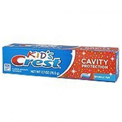 Kids Crest Toothpaste - Cavity Protection, 2.7 Oz,(pack of 6)