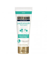 Gold Bond Pedi Smooth Foot Cream, 3.5 oz, Pack of 2