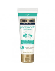 Gold Bond Pedi Smooth Foot Cream 3.5 oz (Pack of 3)