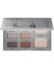 Cargo Cosmetics - High Pigment Contour Eye Shadow Palette, Smudge-Proof, Transfer-Proof, Longwear, Crease-Proof, 01