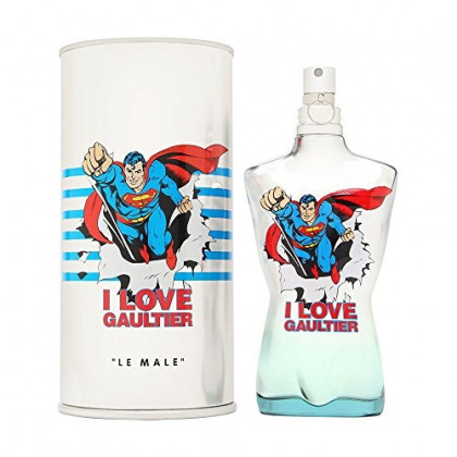 Le Male Eau Fraiche Superman by Jean Paul Gaultier for Men 4.2 oz Eau de Toilette Spray