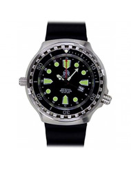 XXL 52mm - 1000m -Military Diver Watch Tauchmeister with Sapphire Glass and Helium velve T0265