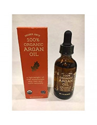 Trader Joe's 100% Organic Argan Oil ( Pack of 2)