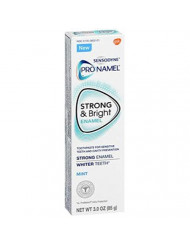 Sensodyne Pronamel Strong and Bright Mint Toothpaste, 3 Oz (Pack of 2)