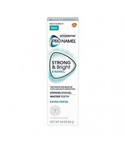 Sensodyne Pronamel Strong and Bright Extra Fresh Toothpaste, 3 Oz (Pack of 2)
