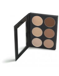 Mehron Makeup Celebre Pro-HD Conceal-It Palette, 6 Shades