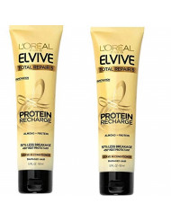 L'Oreal Elvive Total Repair 5 Protein Recharge Leave-in Conditioner, 5.1 fl. oz (Pack of 2)