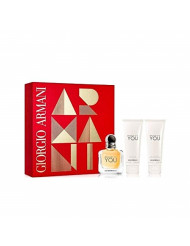 ARMANI EMPORIO BECAUSE ITS YOU L 3 PC HB SET (1.7 EDP SPR + 2.5 SG + 2.5 PERFUMED BL)