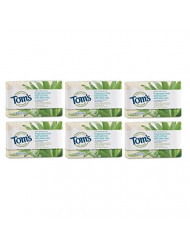 Tom's of Maine Natural Beauty Bar Soap with Aloe Vera, Floral, 5 Ounce, 6 count