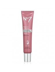 No7 Restore & Renew Face & Neck MULTI ACTION Serum 30ml