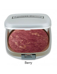 Ageless Derma Baked Mineral Makeup Healty Blush with Botanical Extracts (Berry Swirl) Made in USA. Highlighter Makeup