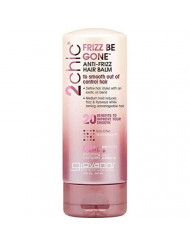 Giovanni 2chic Hair Balm - Frizz Be Gone Styling Balm with Shea Butter & Sweet Almond Oil, 5 Ounce (Pack of 1)