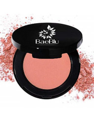 BaeBlu Organic Blush 100% Natural Pressed Mineral Powder, Made in the USA, Dusty Rose