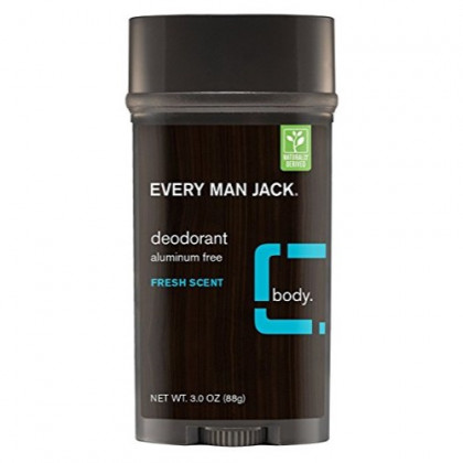 Every Man Jack Deodorant 3 Ounce Fresh Scent (88ml) (2 Pack)
