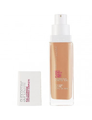 Maybelline Super Stay Full Coverage Liquid Foundation Makeup, Honey, 1 Fl Oz