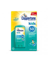 Coppertone KIDS Sunscreen Stick SPF 50, 0.5 Ounce (Pack of 1), (Packaging may vary)