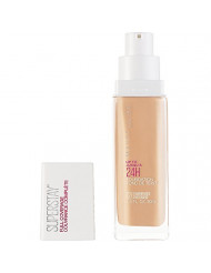Maybelline Super Stay Full Coverage Liquid Foundation Makeup, Warm Nude, 1 Fl Oz