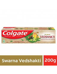 Colgate Vedshakti 7.05 ounce (200gm) x 3 Three pieces - Created with Ayurvedic Expertise - Anticavity Toothpaste - The Perfect Blend For Complete Protection- Pack of 3