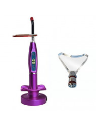 Superdental Purple 5W Wireless Cordless LED Light Lamp Teeth Whitening Lab Equipment US STOCK