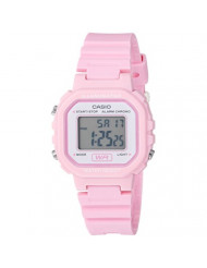 Casio Women's Classic Quartz Watch with Resin Strap, Pink, 9 (Model: LA-20WH-4A1CF