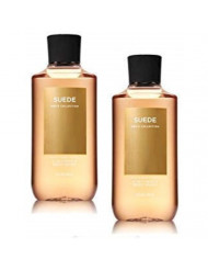 Bath and Body Works 2 Pack Men's Collection 2 in 1 Hair and Body Wash SUEDE.